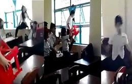 Trà Vinh: Nữ sinh lớp 7 bị đánh hội đồng dã man trong lớp