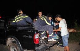 Tây Ninh: Cứu nạn 3 thanh niên bị lạc trên núi Bà Đen