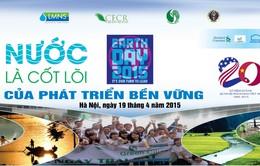 Hơn 3.000 người hưởng ứng Ngày Trái Đất 2015