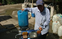 TP.HCM: Hàng trăm hộ dân huyện Cần Giờ khốn đốn vì thiếu nước ngọt