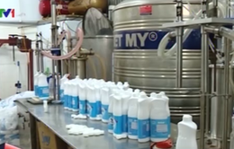 Thu giữ hàng chục nghìn chai nước giặt, nước rửa bát giả xuất xứ Thái Lan