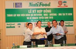 HV Nutifood-HAGL-Arsenal JMG chính thức thành lập tại TP.HCM