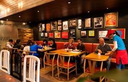 Lĩnh vực nhà hàng dẫn đầu về nhượng quyền thương mại