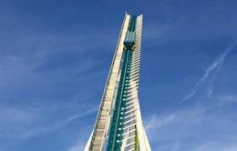 """Vòng quay roller coaster """"điên rồ"""" nhất thế giới"""