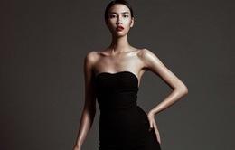 Quán quân Vietnam's Next Top Model 2014 quyến rũ trong trang phục tông đen
