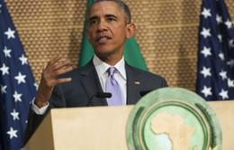Tổng thống Mỹ phát biểu tại trụ sở Liên minh châu Phi