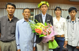Nam sinh Thái Bình 2 lần đạt Huy chương Vàng Olympic Toán