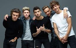 One Direction kiếm được 19000 bảng Anh mỗi ngày