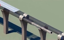 Hyperloop - Tàu siêu tốc di chuyển siêu tốc bằng đường ống