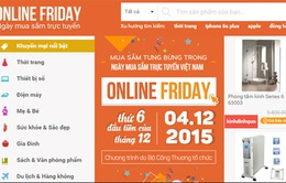 Hơn 8 triệu lượt xem sản phẩm trên webiste OnlineFriday
