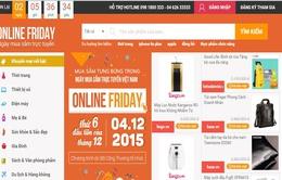 Hơn 60.000 sản phẩm khuyến mãi trong ngày mua sắm trực tuyến 2015