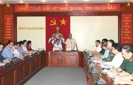 Phó Thủ tướng Nguyễn Xuân Phúc chỉ đạo khắc phục hậu quả mưa lũ