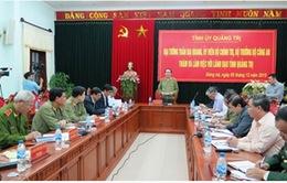 Bộ trưởng Trần Đại Quang làm việc với Tỉnh ủy Quảng Trị