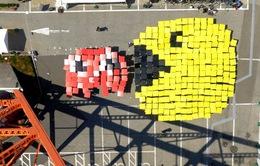 Kỷ lục xếp hình Pacman lớn nhất thế giới