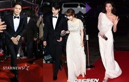 Sao Hàn tụ hội trong Lễ trao giải cuối năm