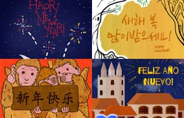 Những lời chúc năm mới của người dân các nước