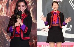 Angelababy 'đụng hàng' với Shin Min Ah
