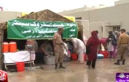 Pakistan: Lập lều trại tránh nóng khẩn cấp tại Karachi