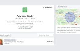 Facebook cập nhật ứng dụng cảnh báo an toàn sau vụ khủng bố kinh hoàng ở Paris