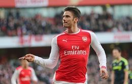 HLV Wenger: Arsenal đã biến Giroud thành một cầu thủ hàng đầu
