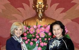 Phó Chủ tịch QH Nguyễn Thị Kim Ngân tiếp Chủ tịch Ủy ban Đối ngoại Quốc hội Pháp