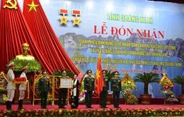 Lực lượng vũ trang tỉnh Quảng Ninh đón nhận danh hiệu Anh hùng LLVTND lần 2