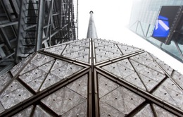 New York: Quả cầu pha lê chào đón năm mới 2016 đã sẵn sàng
