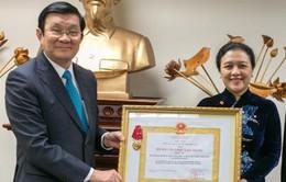Chủ tịch nước trao Huân chương Lao động cho Phái đoàn thường trực Việt Nam tại LHQ