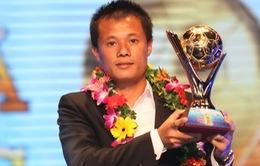 Thành Lương trượt Quả bóng vàng Việt Nam 2015