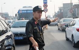 Công an Hà Nội điều 200 cảnh sát cơ động chống ùn tắc