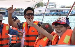 MC Phan Anh hoảng sợ vì không biết bơi