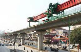 Phân luồng giao thông để thi công tuyến Cát Linh – Hà Đông