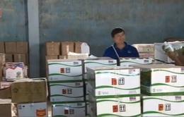Kiểm tra đột xuất kho hàng nghi nhập khẩu phân bón giả tại Đăk Lăk