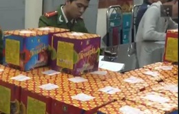 Bắt gần 40kg pháo lậu từ Lạng Sơn về Hà Nội tiêu thụ