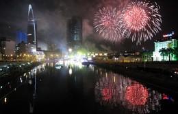 TP.HCM: Người dân không được đứng trên cầu ngắm pháo hoa tối 30/4