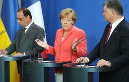 Lãnh đạo châu Âu kêu gọi thực thi thỏa thuận Minsk