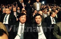 Đoàn Việt Nam dự Hội nghị Phát triển Kinh tế Ai Cập