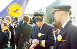 Lufthansa khôi phục hoạt động sau đình công