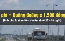 Chính thức thu phí cao tốc Pháp Vân – Cầu Giẽ