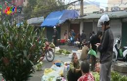 Nhộn nhịp phiên chợ đầu năm tại các chợ Hà Nội