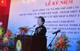 Phó Chủ tịch nước dự lễ kỷ niệm Ngày công tác xã hội thế giới