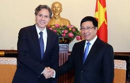 Phó Thủ tướng Phạm Bình Minh tiếp Thứ trưởng thứ nhất Bộ Ngoại giao Hoa Kỳ