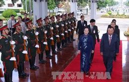 Phó Chủ tịch nước thăm chính thức CHDCND Lào