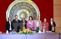 Lãnh đạo Quốc hội tiếp đoàn đại biểu Quốc hội qua các thời kỳ tỉnh Hải Dương