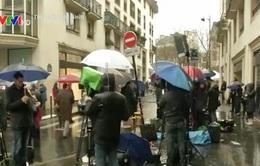 Khủng bố tại Pháp và cuộc chạy đua của phóng viên truyền hình