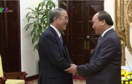 Phó Thủ tướng Nguyễn Xuân Phúc tiếp Thống đốc tỉnh Nagasaki, Nhật Bản
