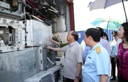 Phó Thủ tướng Nguyễn Xuân Phúc làm việc với Cục Hải quan TP.HCM