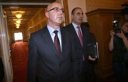 Bộ trưởng Nội vụ Bulgaria từ chức trước cuộc gặp Giám đốcFBI