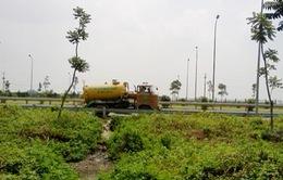 Thái Nguyên: Bắt quả tang xe xả trộm hóa chất ra môi trường
