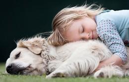 Khoảnh khắc dễ thương của các em nhỏ bên động vật